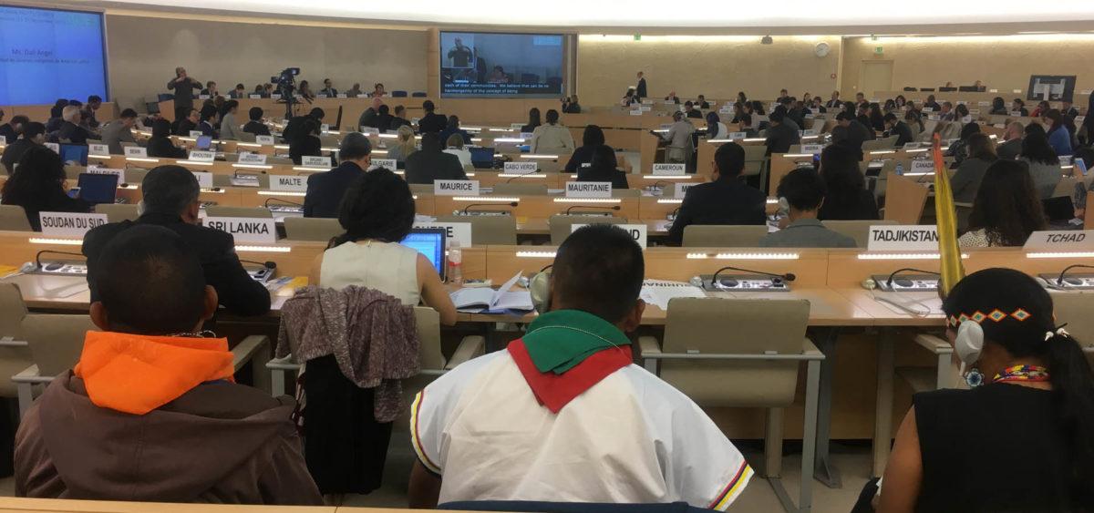 36 Consejo de Derechos Humanos Umiyac