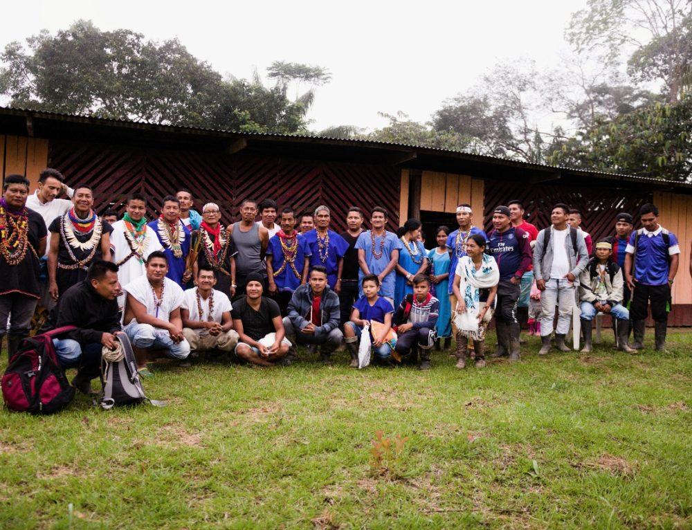 UMIYAC's Spiritual Healing Brigade in Siona Territory