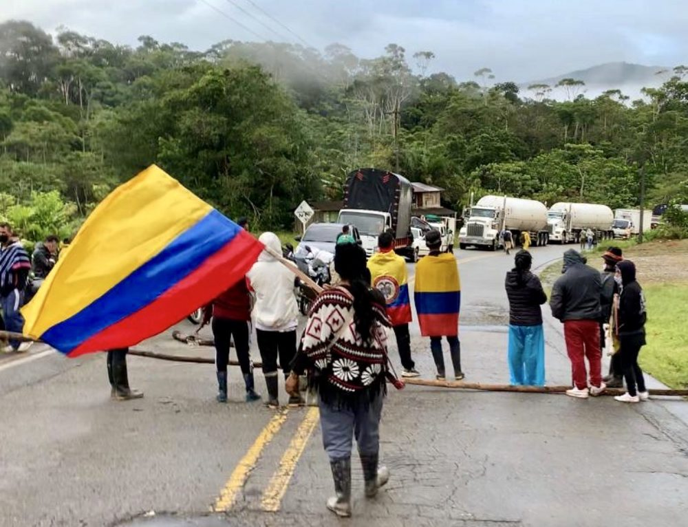COMUNICADOS DE LAS AUTORIDADES ESPIRITUALES DE LOS PUEBLOS AMAZONICOS EN  APOYO AL PARO NACIONAL